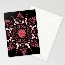 Coral Mandala Stationery Cards