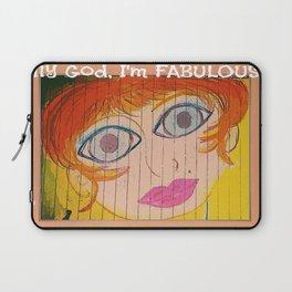 My God, I'm FABULOUS! Laptop Sleeve
