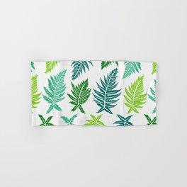 Inked Ferns – Green Palette Hand & Bath Towel