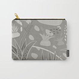 Succulents Camouflage Carry-All Pouch