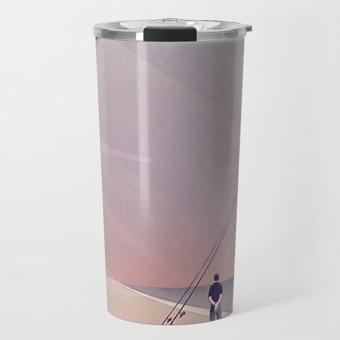 Keep Fishing Travel Mug