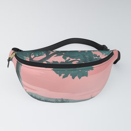 TREE WITH LEAVES PAINTING Fanny Pack