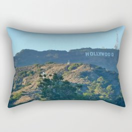 Hills of Hollywood Rectangular Pillow