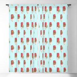 Tropical Popsicles #digitalart #yum Blackout Curtain