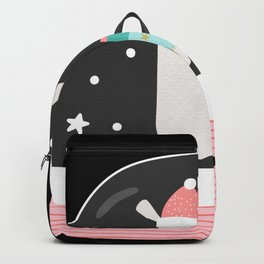 Snow Globe Cute Llama Christmas 2020 Backpack