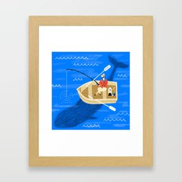 Be Careful What You Fish For Framed Art Print