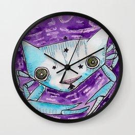"""Oro?"" Cancer Wall Clock"