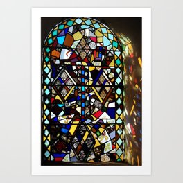 Beauty in Brokenness Andreas 4 Art Print