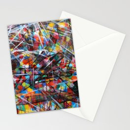 Abstract Street Art Stationery Cards