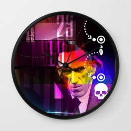 Original Gangster :: Vintage Mugshot Composition 01 Wall Clock