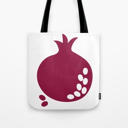 Bordo abstract sweet pomegranate fruit Tote Bag