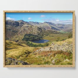 Blea Tarn Serving Tray