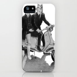This is a Modern Life iPhone Case