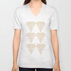 Geometric Diamond Unisex V-Neck