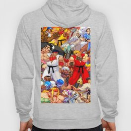 Street Fighter Third Strike - Fight! Hoody