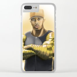 Killa Beez : Golden Arms Clear iPhone Case
