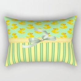 Rubber Duckys  Rectangular Pillow