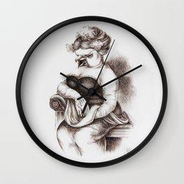 The Opera Singer Wall Clock