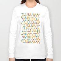 bohemian Long Sleeve T-shirts featuring bohemian circles by studiomarshallarts