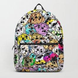 Gemstone Pugs Dogs Backpack