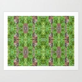Palm Glory Art Print