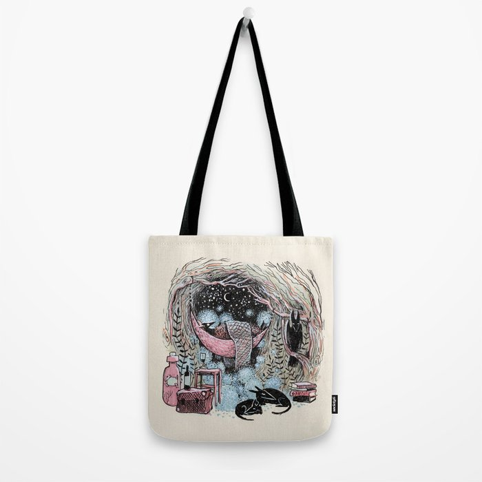 Cotton Ball Dreams Tote Bag