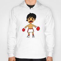 rocky Hoodies featuring ROCKY by Christophe Chiozzi
