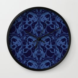 Creepy Marble Wall Clock