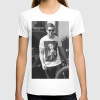 ryan gosling T-shirts featuring RYAN GOSLING WEARING T-SHIRTS MACAULAY CULKIN by nicksoulart