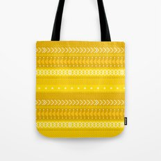 Indomitable - tribal geometrics Tote Bag