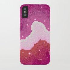 Lesbian Pride Flag Galaxy iPhone X Slim Case