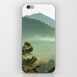 Smoky Mountain Sunrise iPhone Skin
