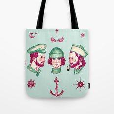 Sea Adventure - Love Triangle  Tote Bag