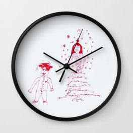 Christmas fashion Wall Clock