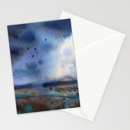 """ After the rain "" Stationery Cards"