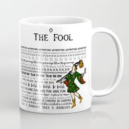The Fool - A Tarot Design Coffee Mug