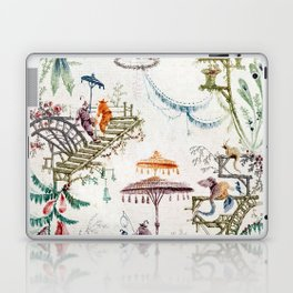 Enchanted Forest Chinoiserie Laptop & iPad Skin