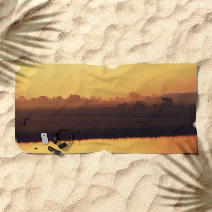 Morning activity #2 Beach Towel