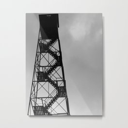Train hard, climb hard Metal Print