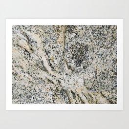 TEXTURES -- Riverstone 2 Art Print