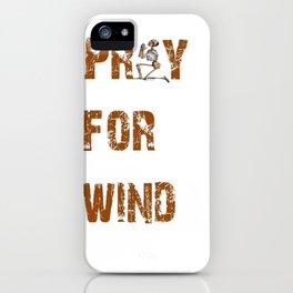 Kitesurfers Pray for Wind iPhone Case
