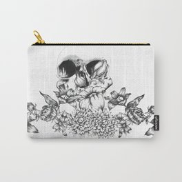 romantic skull Carry-All Pouch