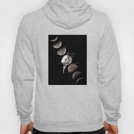 Moon Phases with Vintage Witch Hoody