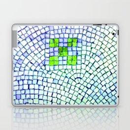 artisan 22.06.16 in lime & shades of blue Laptop & iPad Skin