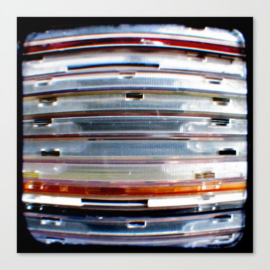 CD Stack - Through The Viewfinder (TTV) - ANALOG zine Canvas Print