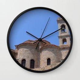 Panagia Theoskepasti (Pafos, Cyprus) Wall Clock