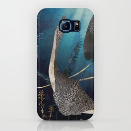 Metallic Stingray iPhone Case