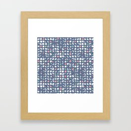 Diagonall Framed Art Print