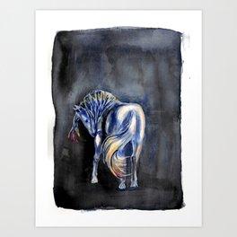 Shadow Dancer Art Print