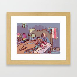 Only Sleep Framed Art Print